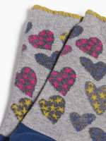Sketchy Hearts Sock