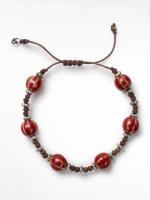 Ceramic & Cord Bracelet