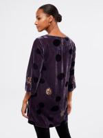 Erin Velvet Sequin Tunic