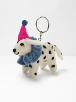 Party Pooch Dalmatian Keyring