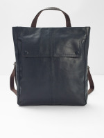 Linden Grainy Leather Rucksack