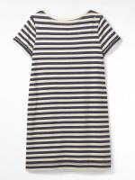 Short Sleeve Stripe Beck Dress