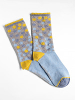 Ombre Sparkle Spot Sock