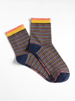 Sara Stripe Ankle Sock