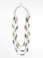 Blue Lagoon Ceramic Necklace