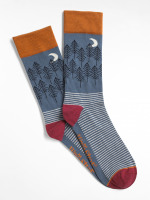 Woodland Trees Sock