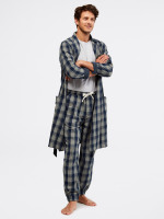 Thame Cuffed Flannel Check
