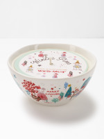 Merry Xmouse Bowl Candle