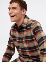 Serpentine Flannel Check Shirt