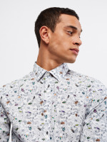 Beetle Trail Print Shirt