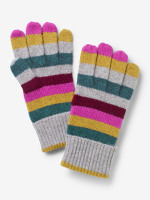 Cashmere Stripe Gloves