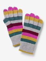 Cashmere Stripe Gloves