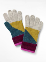 Cashmere Colourblock Gloves