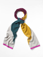 Cashmere Colourblock Scarf