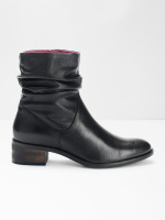 Rebecca Ruched Ankle Boots