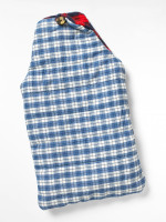 Reversible Check Mens Hot Water Bottle