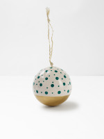 Spot and Gold Bauble