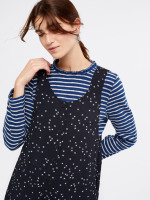 Star Moss Crepe Dungaree