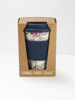 Bike Print Eco Coffee Mug