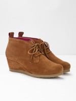Issy Lace Up Wedge Ankle Boots