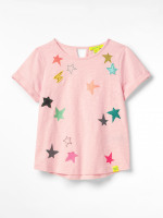 Clustered Star Organic Jersey Tee