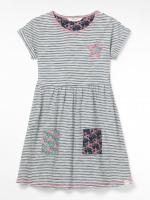 Stripe & Stars Jersey Dress