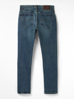 Davis Slim Button Fly Jean
