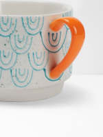 Scallop Stacking Mug