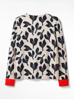 Seedpod Print Organic Cotton Cardi