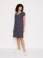 Day To Day Stripe Jersey Dress