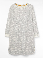 Cloudy Day Jersey Dress