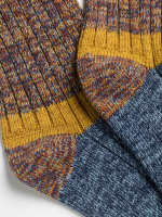 Colourblock Boot Sock