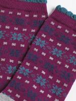 Scandi Fairisle Sock