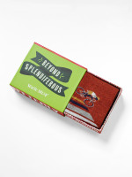 Bike Matchbox Sock