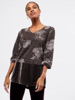 Opulence Velvet Jersey Tunic