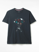Space Graphic Organic Tee