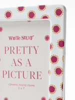 Pink Spot Frame 5x7