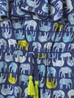 Ellie Elephant Jersey Jumpsuit