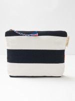 Hayley Organic Cotton Holiday Stuff Pouch
