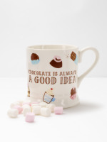 Chocolate Good Idea Filled Mug