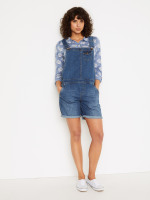 Shorts Denim Dungaree
