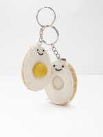 Yolking Around Keyring