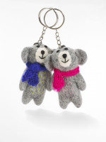 Cosy Bear Keyring