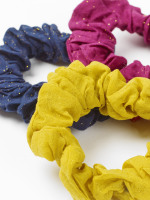 Glitter 3 Pack Scrunchies