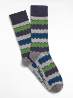 Chevron Stripe Sock