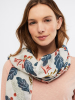 Lucia Cotton Silk Scarf