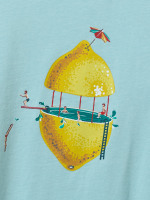 Diving Lemons Organic Graphic Tee