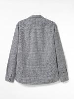 Nevis Print Cotton Linen Shirt