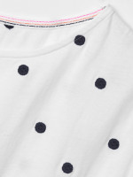 Rosie Embroidered Jersey Tee