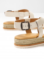 Sofia Jute Mini Wedge Sandal